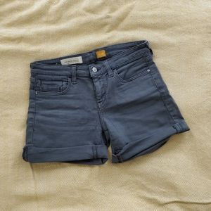Anthropologie Pilcro gray jean shorts size 26